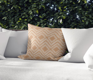 Retreat Camel Indoor|Outdoor Pillow By Tiffany Wong