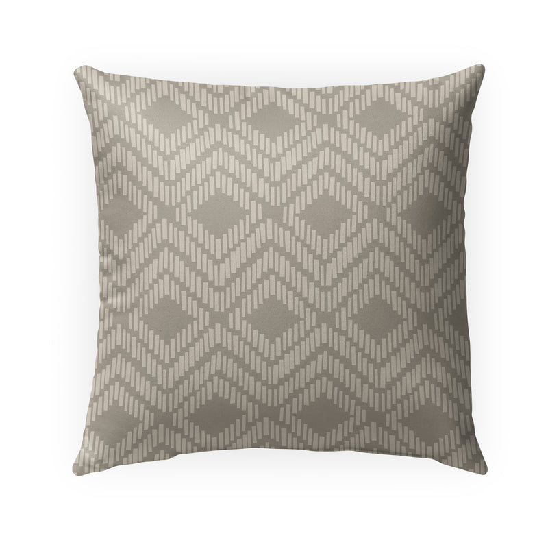 Retreat Sand Indoor|Outdoor Pillow By Tiffany Wong