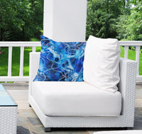 FROZEN Indoor|Outdoor Pillow By Christina Twomey
