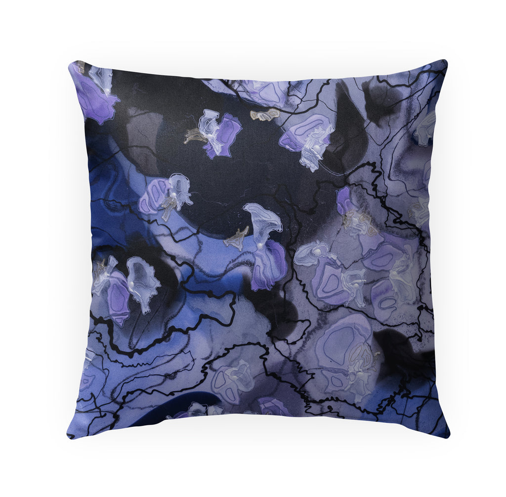 ORCHIDS Indoor|Outdoor Pillow By Christina Twomey