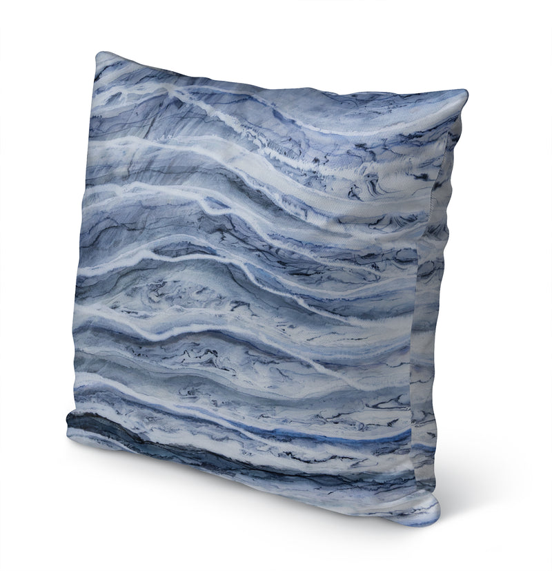 ZEBRA II BOTTOM Indoor|Outdoor Pillow By Christina Twomey