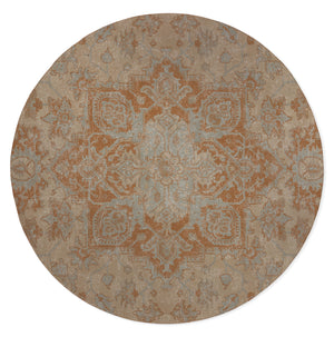 SERAPI RUST Area Rug By Kavka Designs