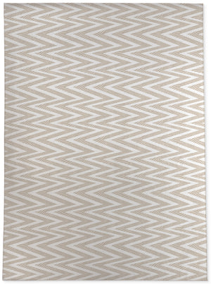 ACRO TAN Area Rug By Becky Bailey
