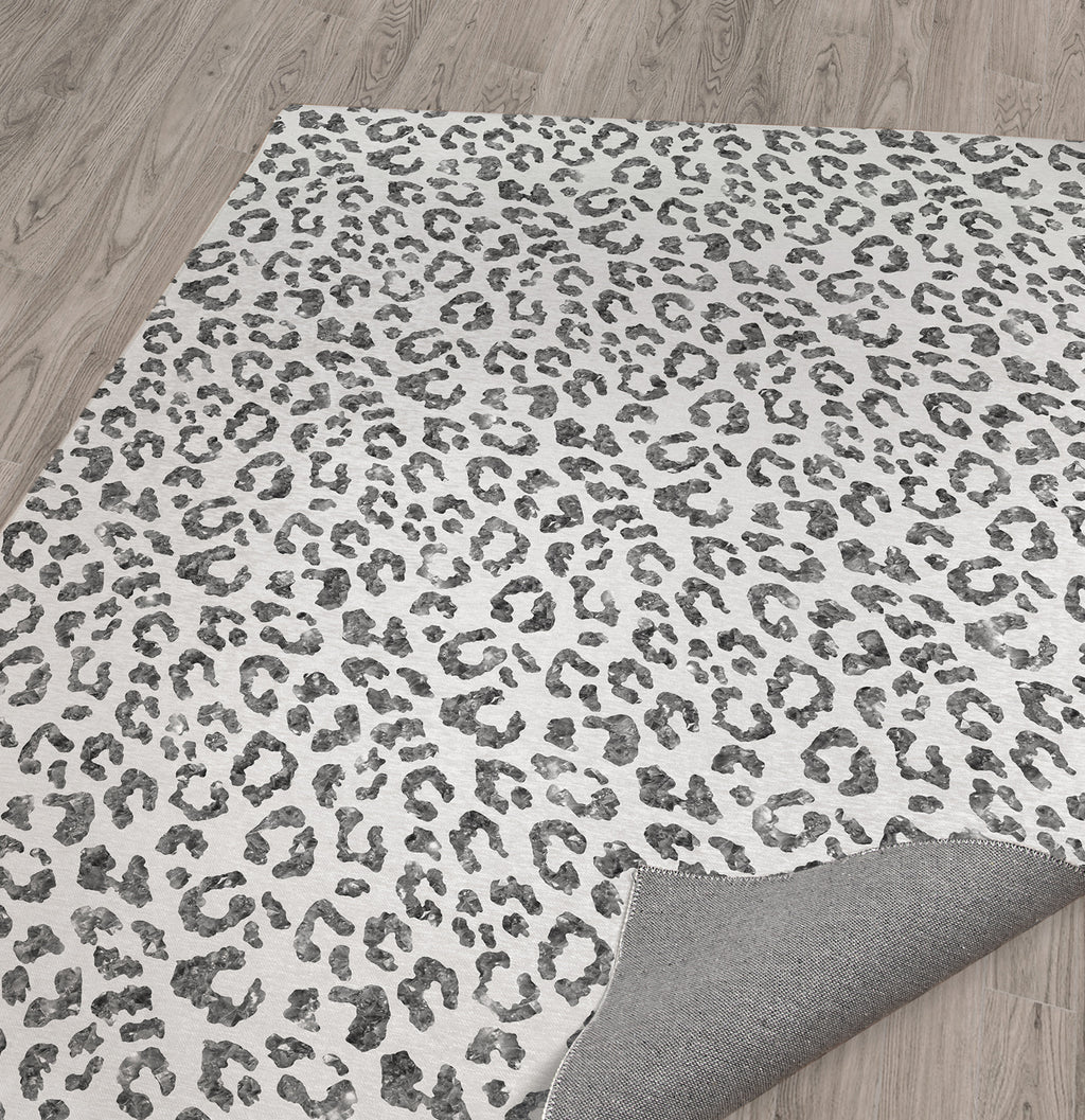 LIGHT LEOPARD Area Rug By Marina Gutierrez
