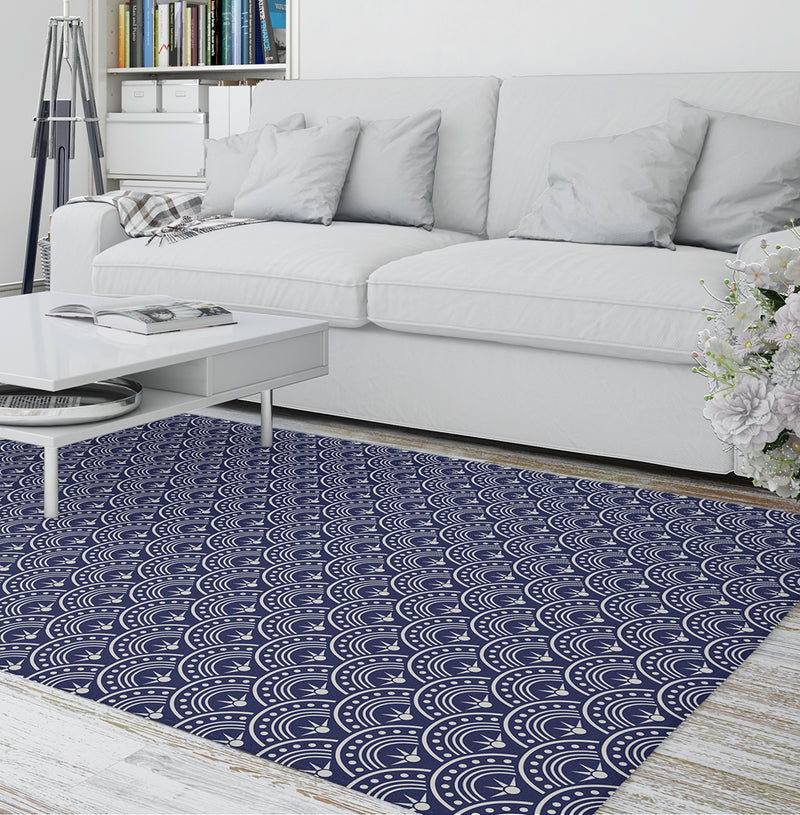 HOOPS Area Rug By Terri Ellis