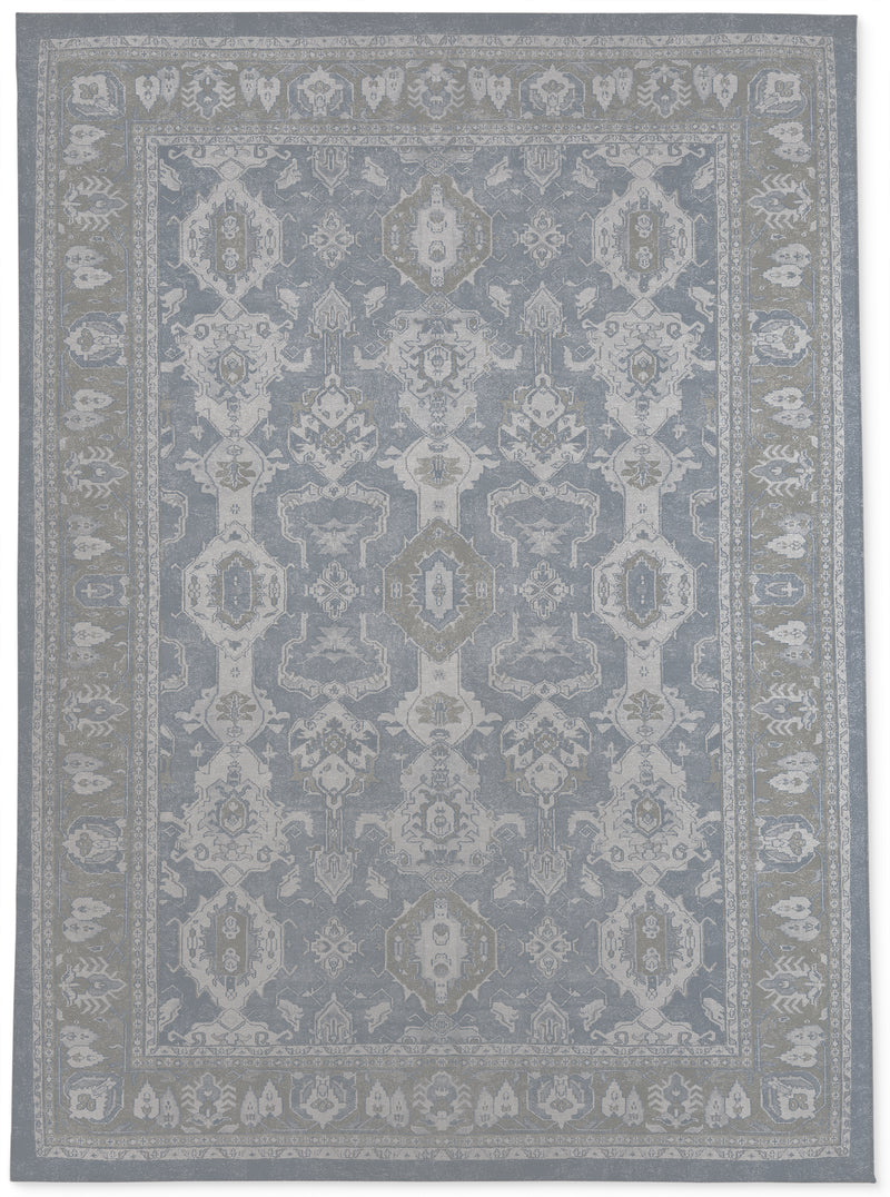 MAHAL LIGHT BLUE Area Rug By Kavka Designs
