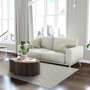 ADELE NATURAL Area Rug By Kavka Designs