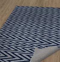 ACRO NAVY Area Rug By Becky Bailey