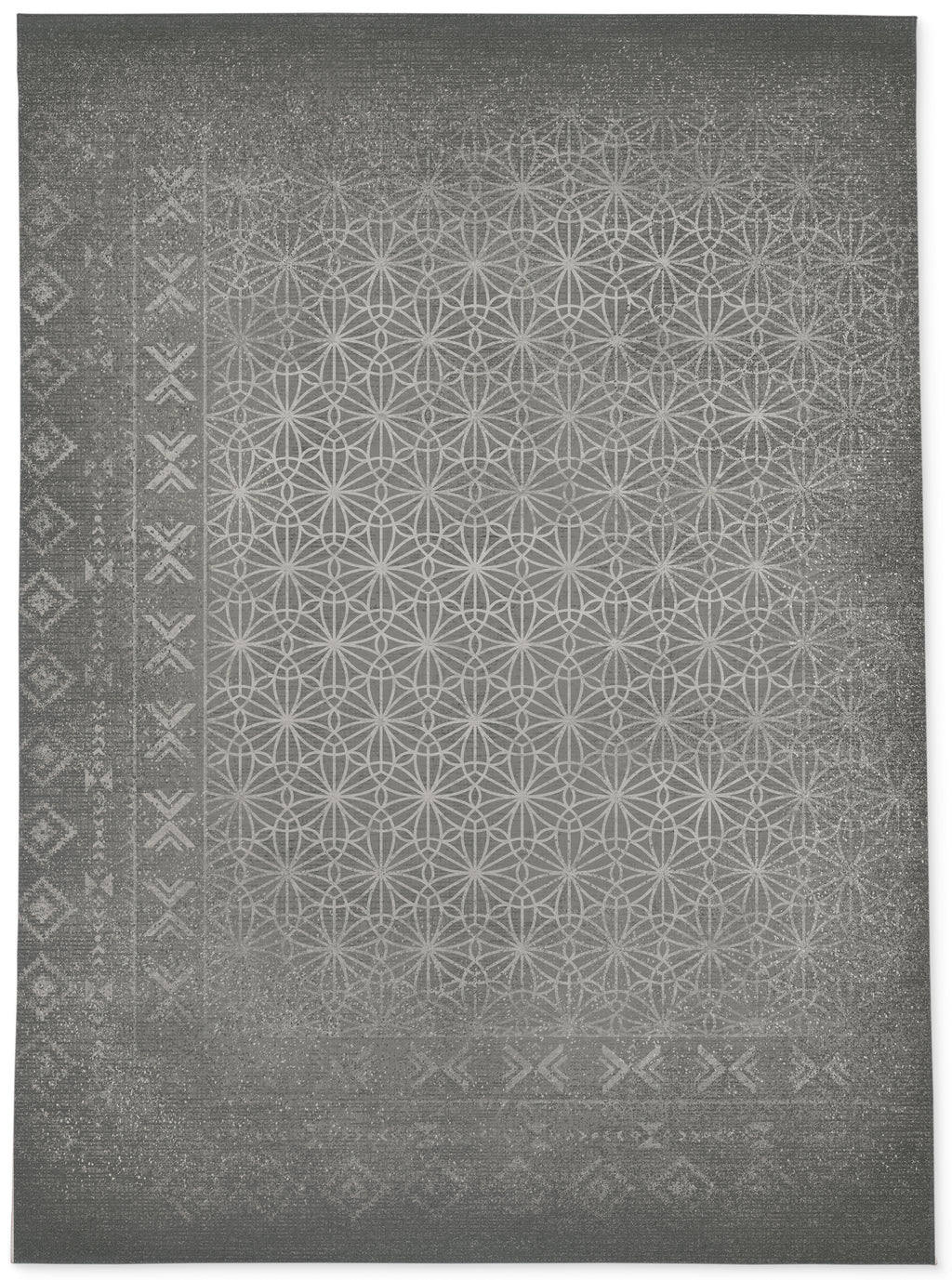 AALIYAH GRAY Area Rug By Kavka Designs