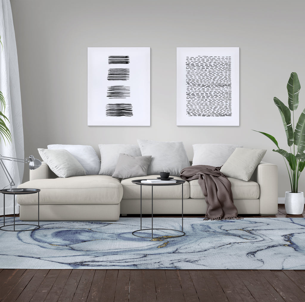 LAGOON BLUE Area Rug By Kavka Designs