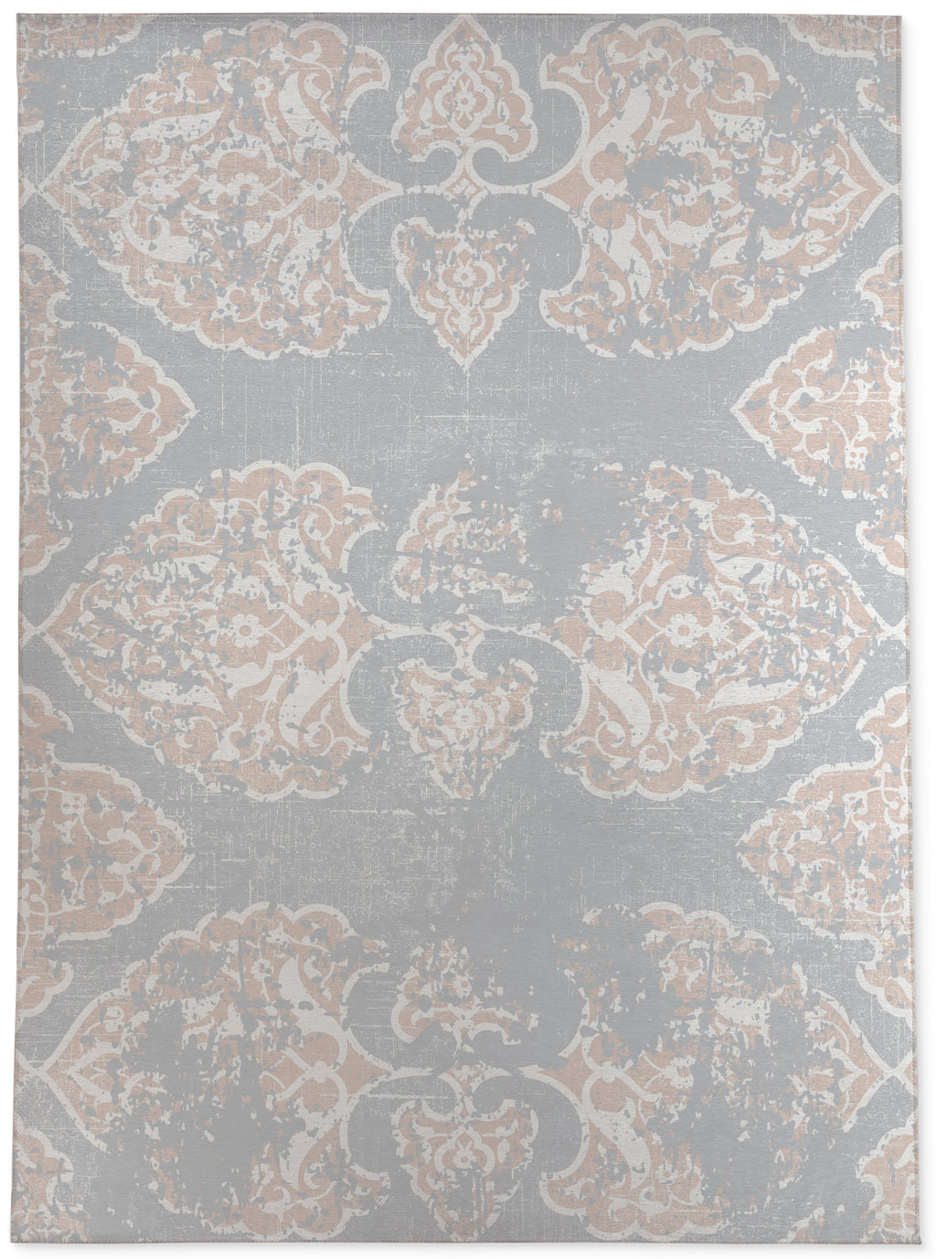 SOPHIE PINK AND GREY Area Rug By Terri Ellis