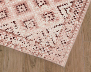 ADILAND BLUSH DISTRESSED Area Rug By Terri Ellis