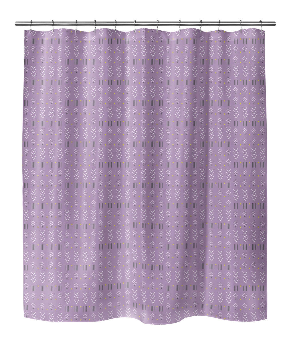 BOHO LAVENDER Shower Curtain By Chi Hey Lee