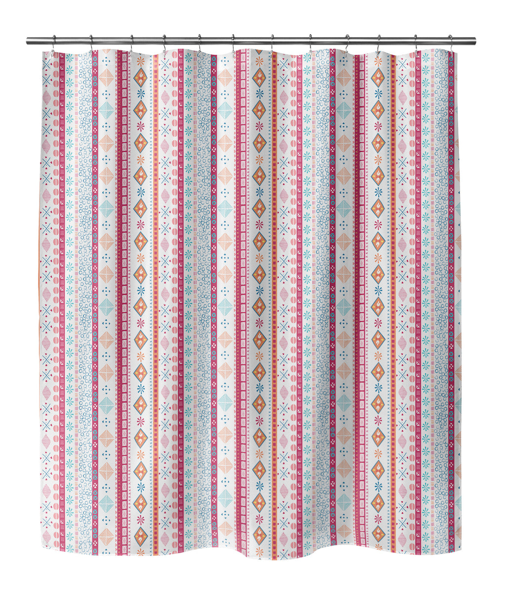 VIBRANT BOHO Shower Curtain By Chi Hey Lee
