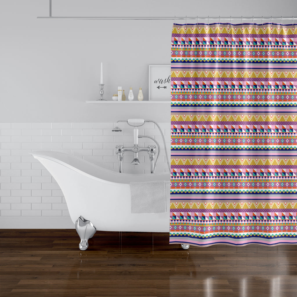 VIVA SOUTH Shower Curtain By Chi Hey Lee
