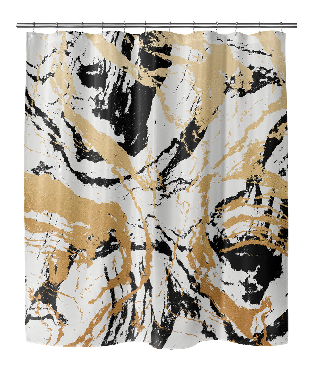 MARBLE Shower Curtain By Marina Gutierrez