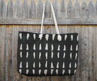 BAQUARELLE TARE Tote Bag By Nancy Green