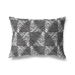 GEOMETRIC Indoor|Outdoor Lumbar Pillow By Michelle Parascandolo