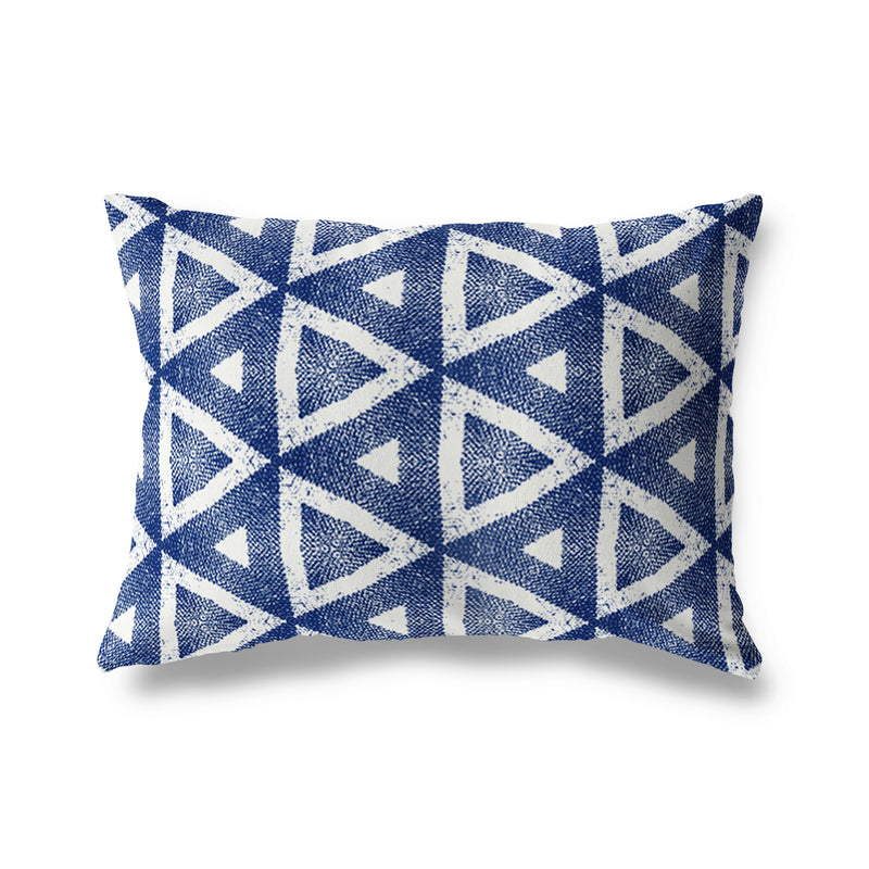 MADRID Indoor|Outdoor Lumbar Pillow By Michelle Parascandolo