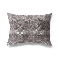 MOSIAC TILE Indoor|Outdoor Lumbar Pillow By Michelle Parascandolo