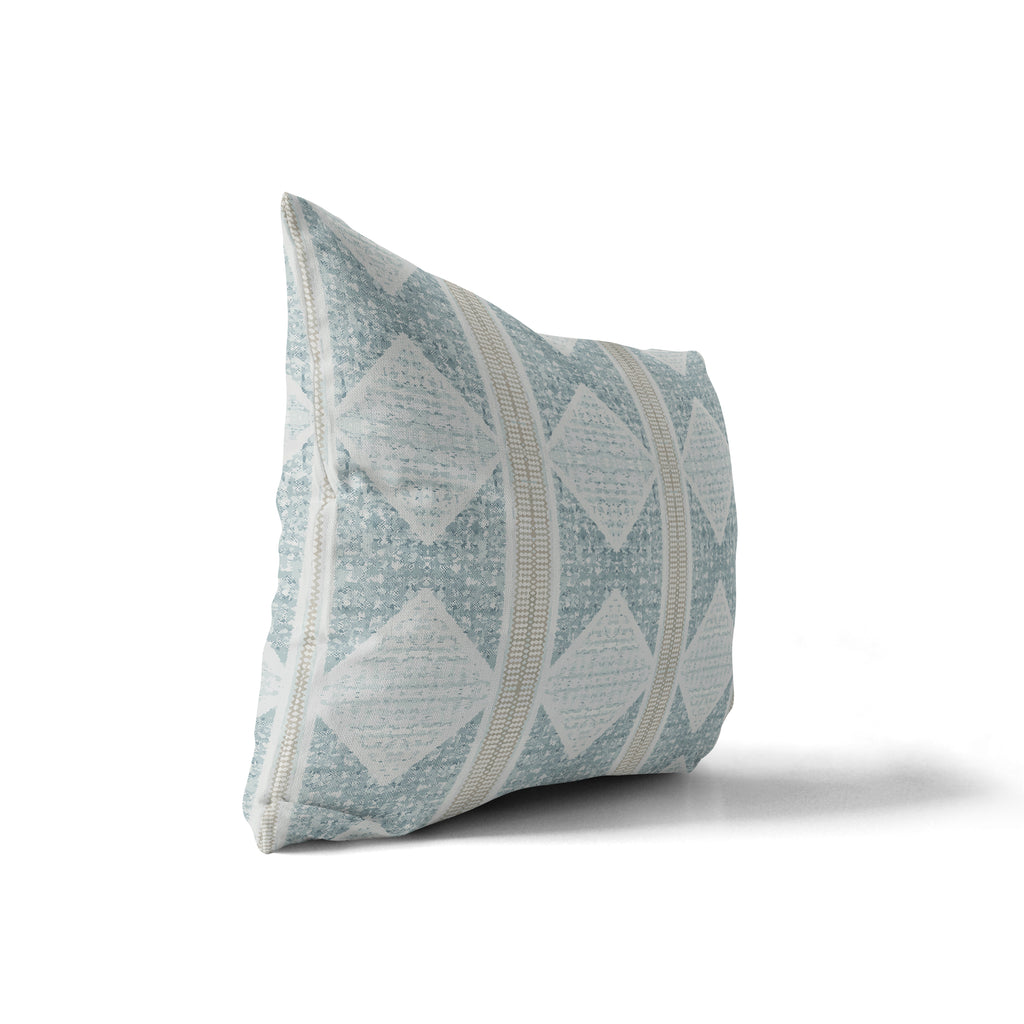 ALBUQUERQUE GREY Indoor|Outdoor Lumbar Pillow By Michelle Parascandolo