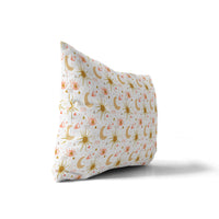 HARROW PINK Indoor|Outdoor Lumbar Pillow By Michelle Parascandolo