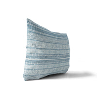 KAVALA BLUE Indoor|Outdoor Lumbar Pillow By Michelle Parascandolo