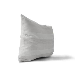 SLEEK NATURAL Indoor|Outdoor Lumbar Pillow By Tiffany Wong
