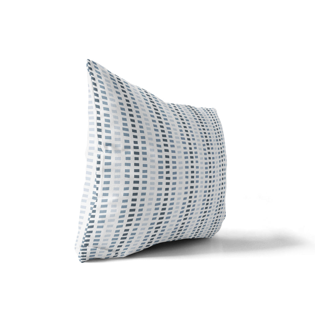 STONE BLUE Indoor|Outdoor Lumbar Pillow By Tiffany Wong
