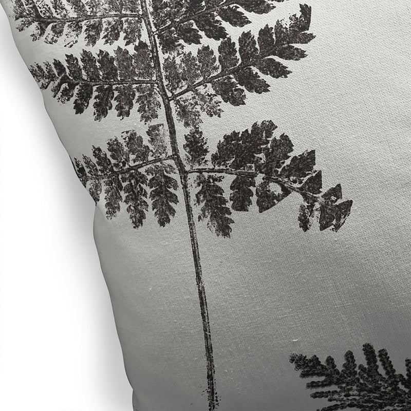 HAMMOND CHARCOAL Indoor|Outdoor Pillow By Becky Bailey