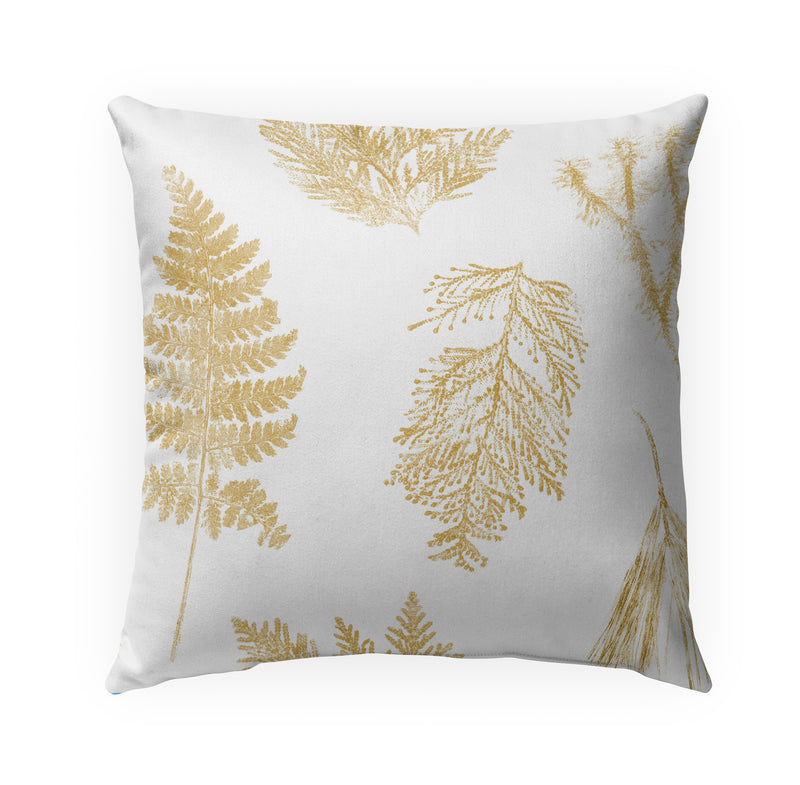 HAMMOND GOLD Indoor|Outdoor Pillow By Becky Bailey