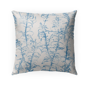 HEATH BLUE Indoor|Outdoor Pillow By Becky Bailey