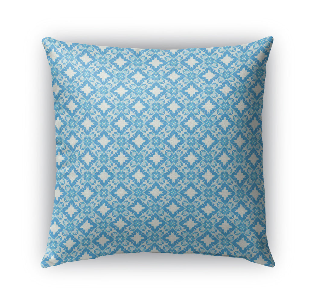 STRIPES DIAMONDS Indoor|Outdoor Pillow By Catia Keck