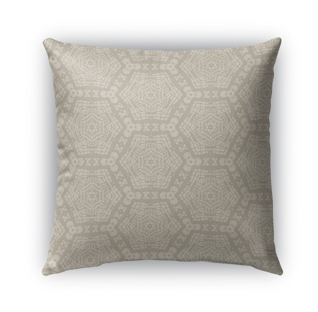 NAVY DIAMONDS Indoor|Outdoor Pillow By Catia Keck