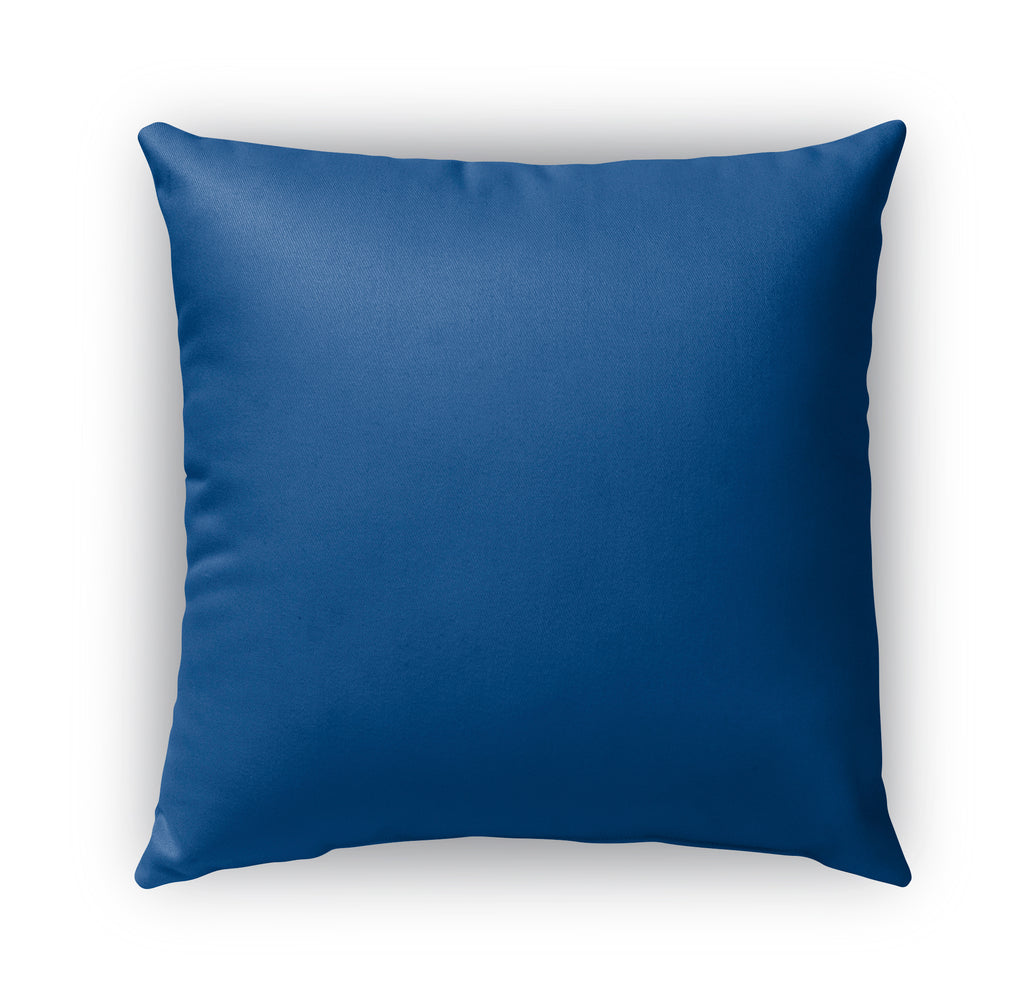 LACE BLUE 3 Indoor|Outdoor Pillow By Catia Keck