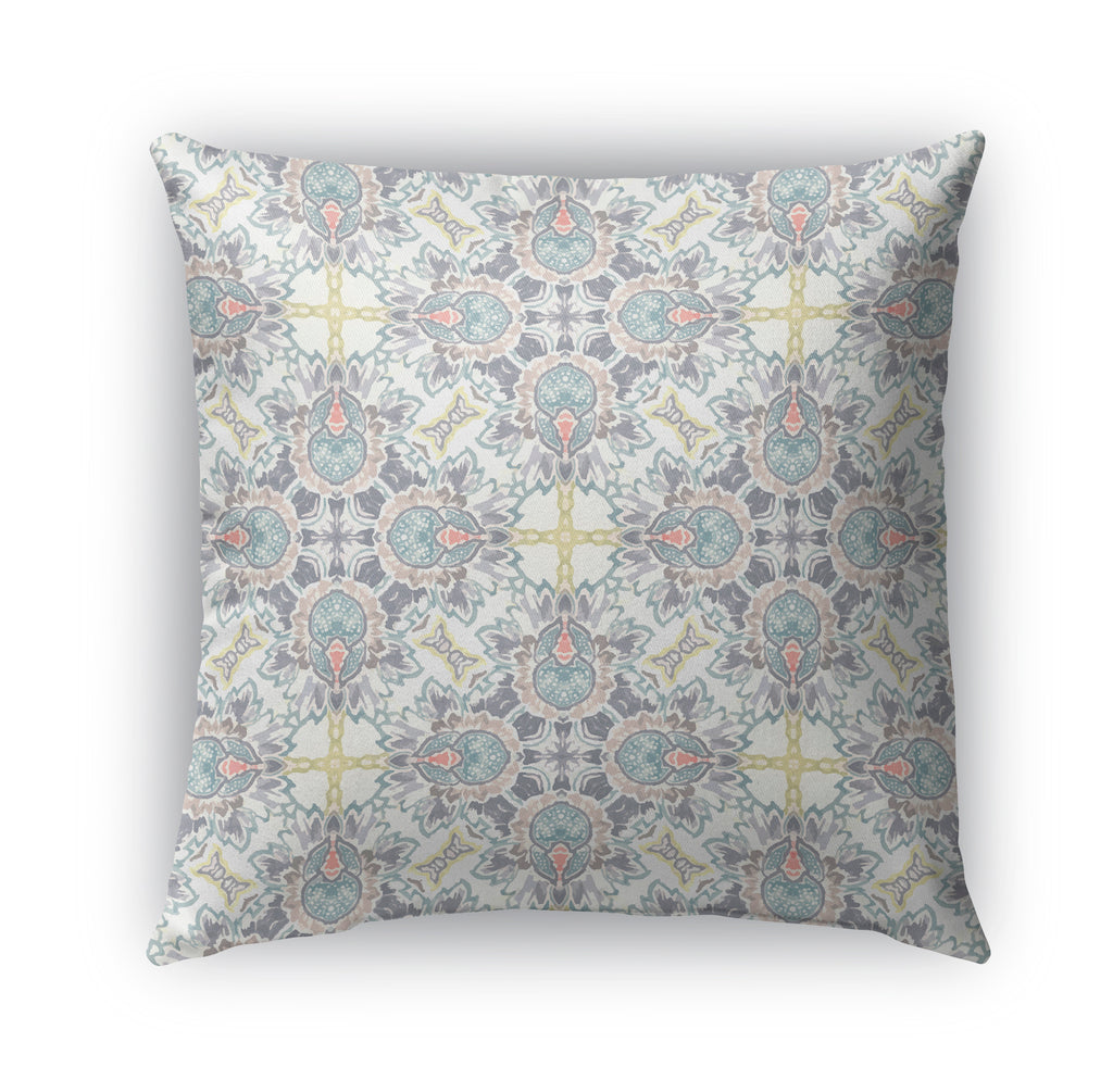 PARADISE FLOWER Indoor|Outdoor Pillow By Catia Keck
