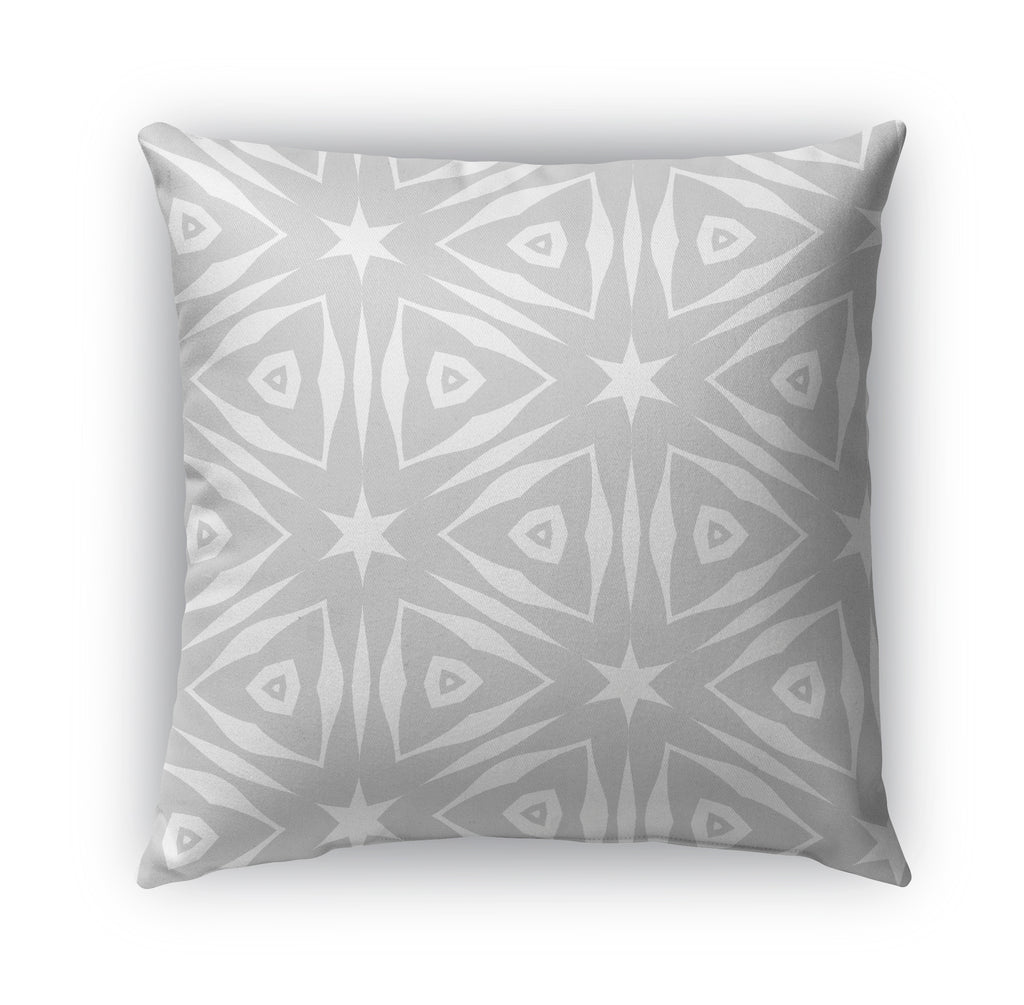 SIMPLY BLACK WHITE Indoor|Outdoor Pillow By Catia Keck