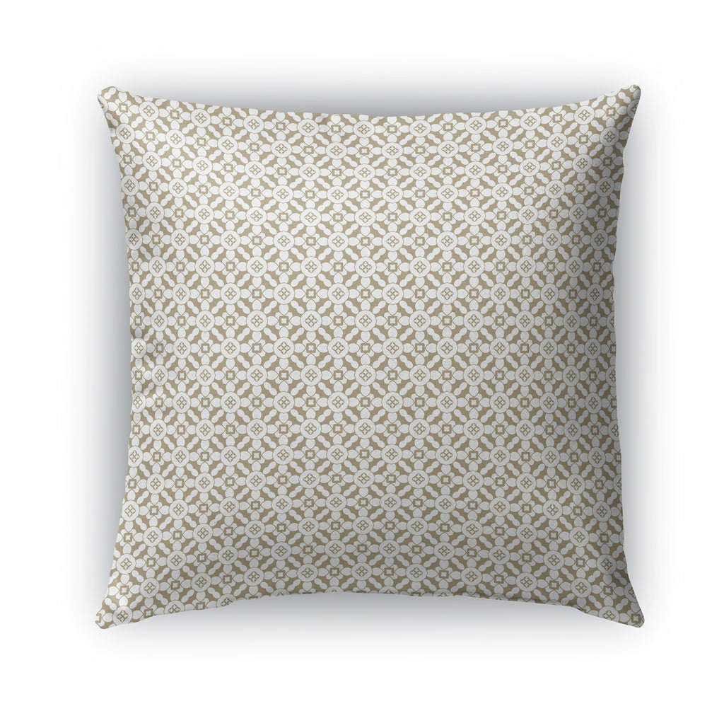 SPAIN TRELISSE BROWN Indoor|Outdoor Pillow By Catia Keck