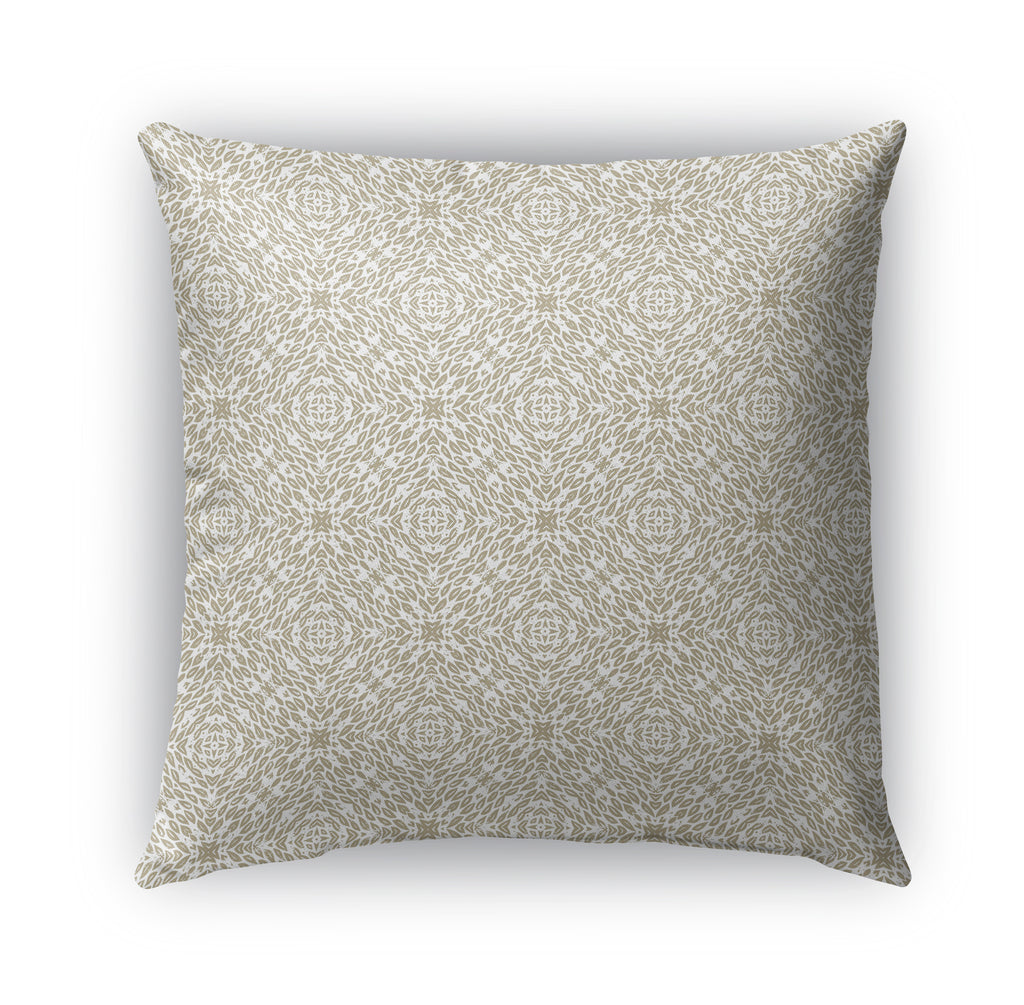 STARRING NIGHT NEUTRAL Indoor|Outdoor Pillow By Catia Keck
