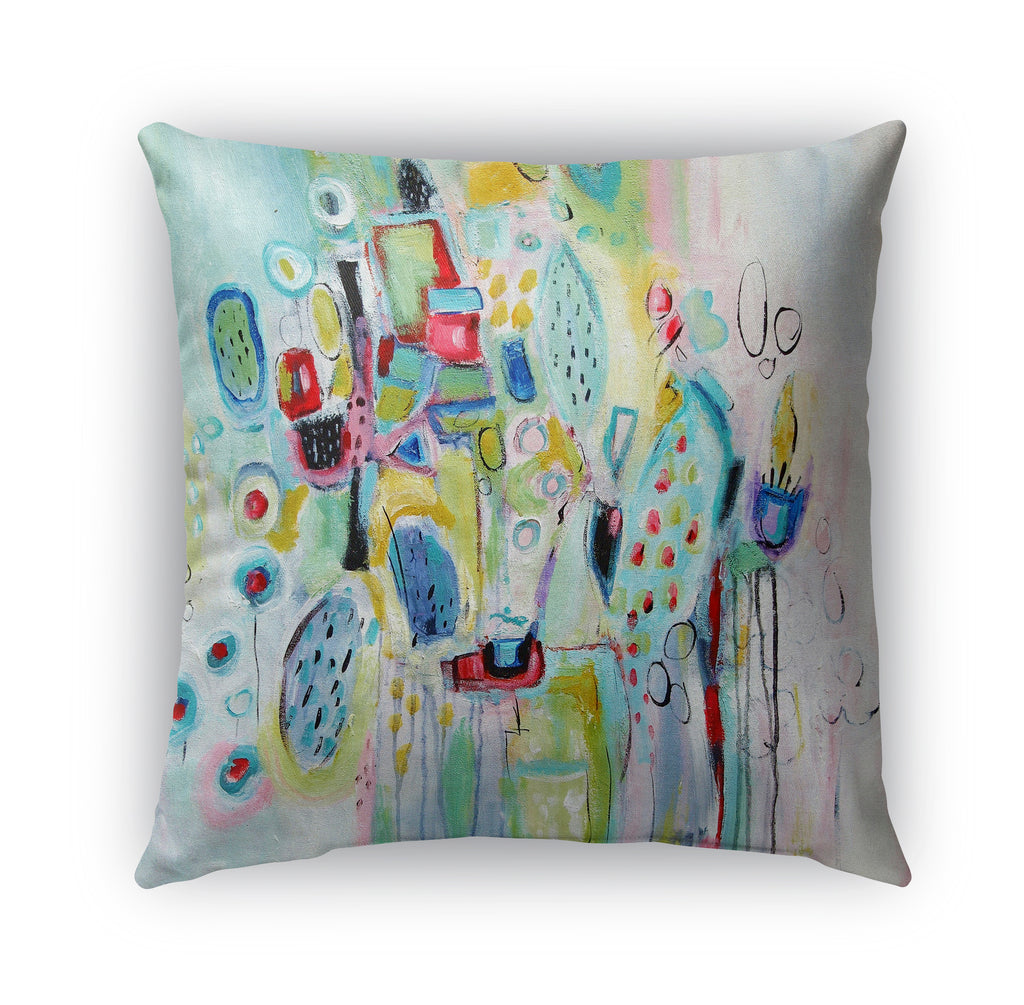PARTY PLANNER Indoor|Outdoor Pillow By Jolina Anthony