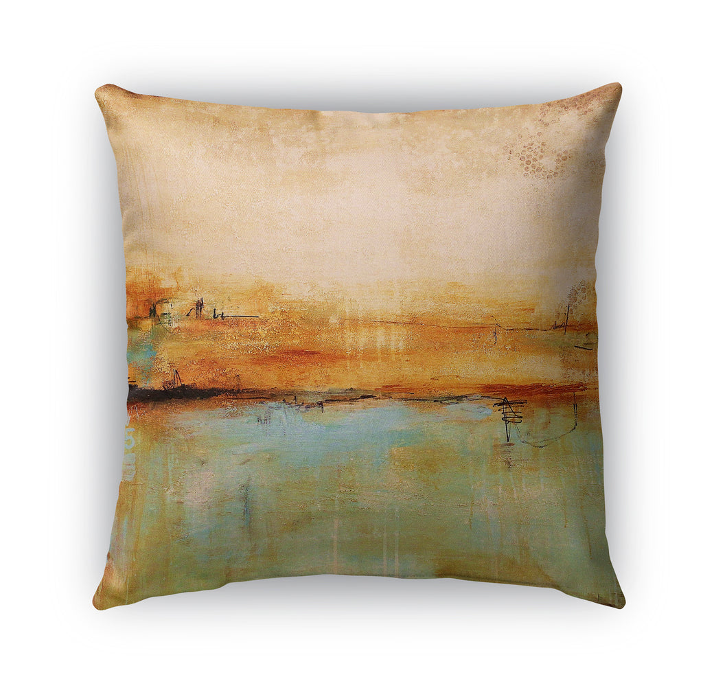 SOUTHWESTERN ABSTRACT Indoor|Outdoor Pillow By Jolina Anthony