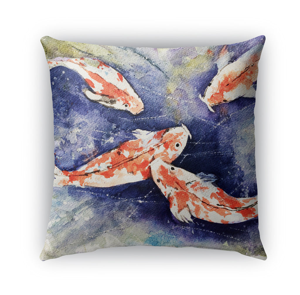 KOI Indoor|Outdoor Pillow By Jayne Conte
