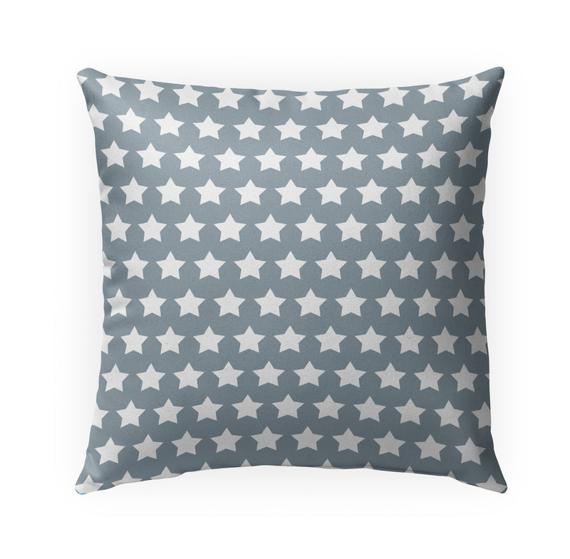 MERCA STARS SLATE Indoor|Outdoor Pillow By Kavka Designs