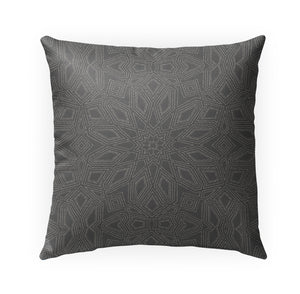 OLIVIA CHARCOAL Indoor|Outdoor Pillow By Kavka Designs