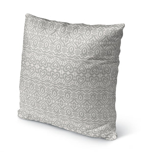ALOMA GREY Indoor|Outdoor Pillow By Kavka Designs