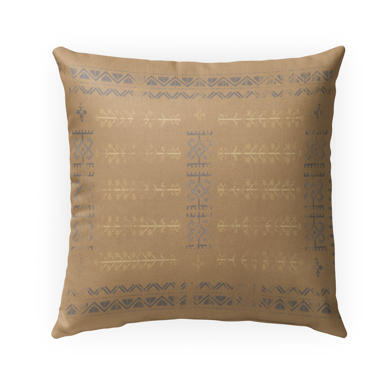 NAHLI CAMEL Indoor|Outdoor Pillow By Kavka Designs