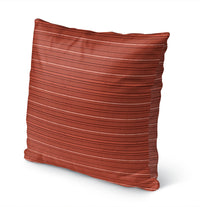 TABBY SALMON Indoor|Outdoor Pillow By Kavka Designs