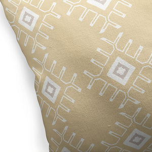 ZINA GOLD Indoor|Outdoor Pillow By Kavka Designs