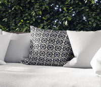 ADELE BLACK Indoor|Outdoor Pillow By Kavka Designs