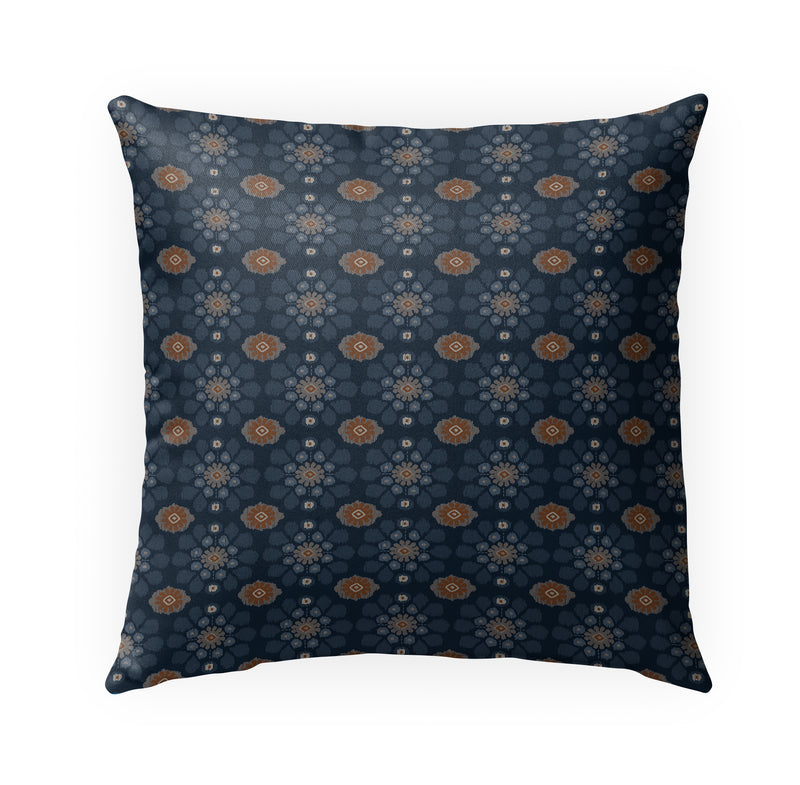 ADELE NAVY Indoor|Outdoor Pillow By Kavka Designs